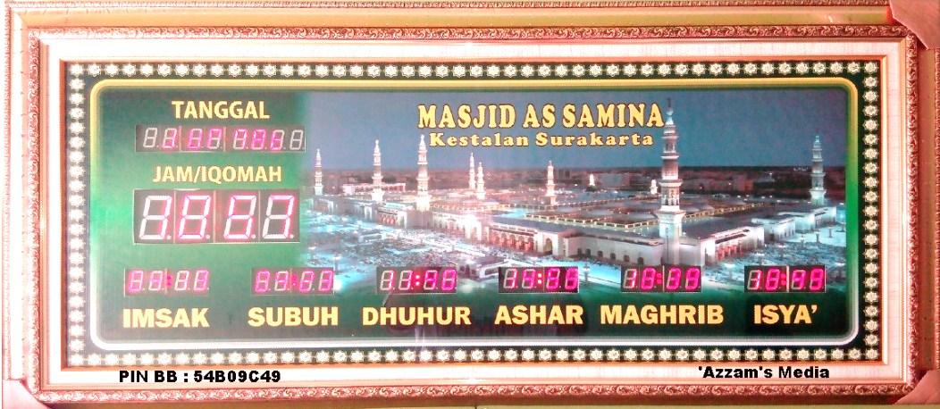 Jadwal-Sholat-Digital-Jam-Digital-Masjid-Jadwal-Sholat-Digital-Buat-Jual-tipe-A1-Madinah