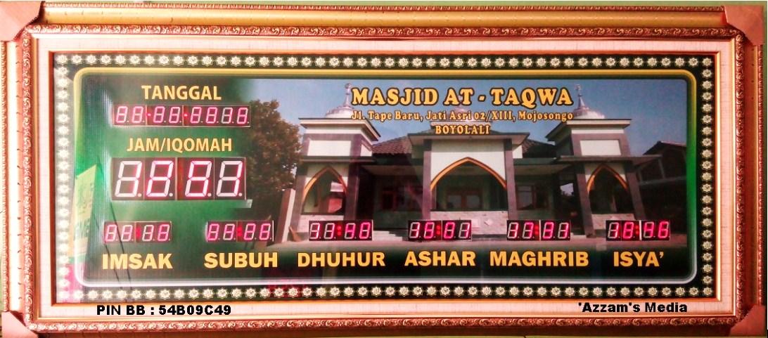 Jadwal-Sholat-Digital-Jam-Digital-Masjid-Jadwal-Sholat-Digital-Buat-Jual-tipe-A2-Poto-Sendiri