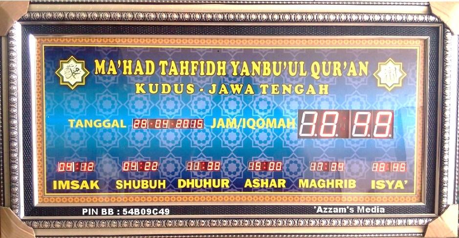 Jam-Digital-Masjid-Jadwal-Sholat-Digital-Buat-Jual-tipe-A1-KUDUS