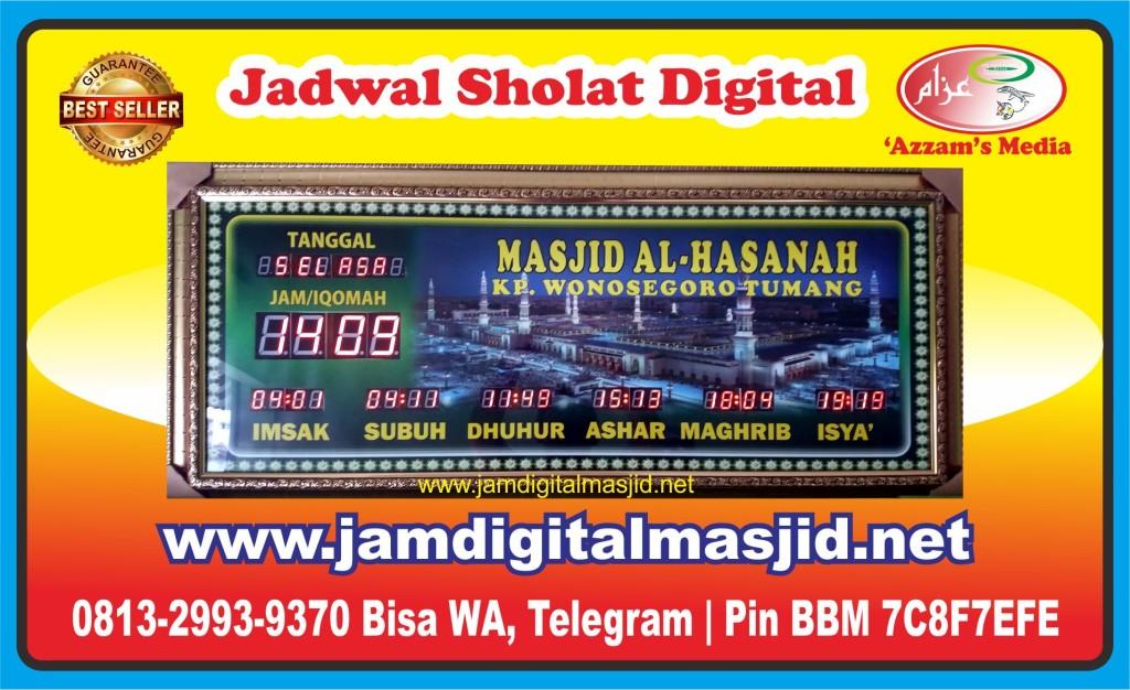 Jam Digital Masjid Jadwal Sholat Digital Waktu 5 Jual Tumang Wonosegoro Boyolali Solo