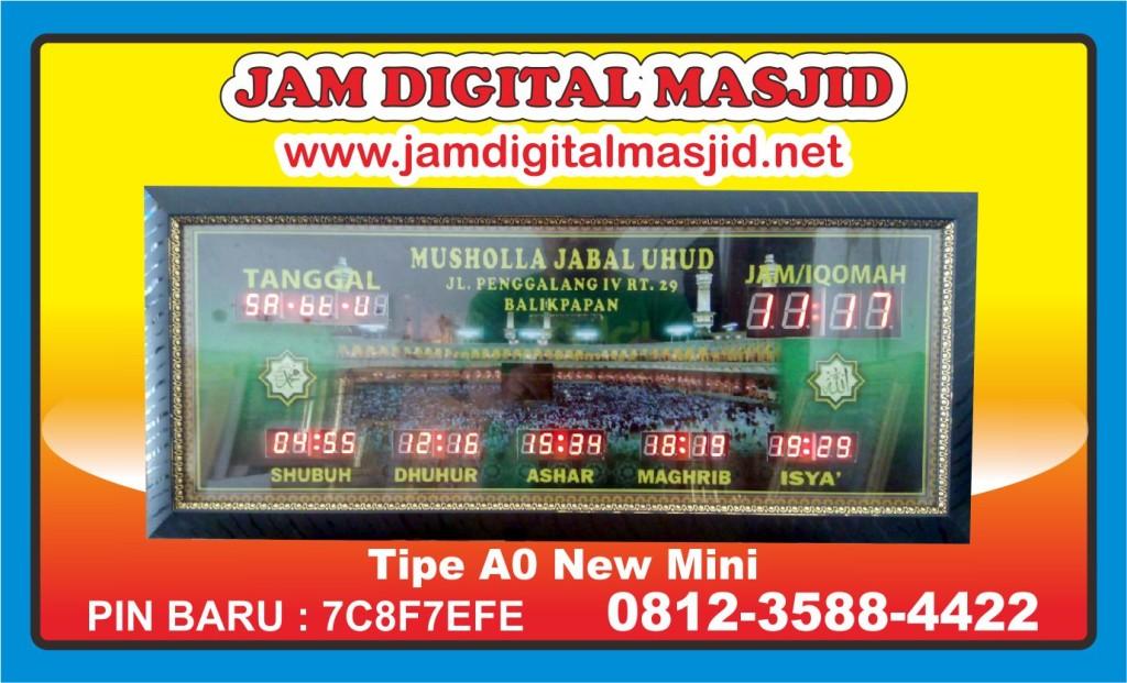 jam-digital-masjid-Jadwal Sholat Digital Waktu 5 Jual jabal-uhud-balikpapan